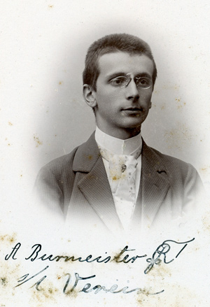 Couleurphoto von Bundesbruder Adolf Burmeister